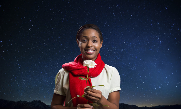 Jasmine Thomas as the Little Prince